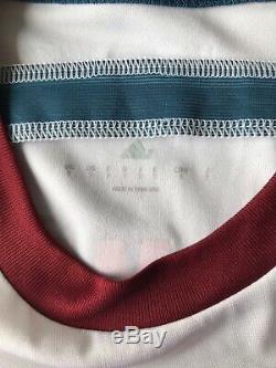 Bayern Munich 2014 2015 Away Football Shirt Jersey Match Worn Adidas #34 Kurt