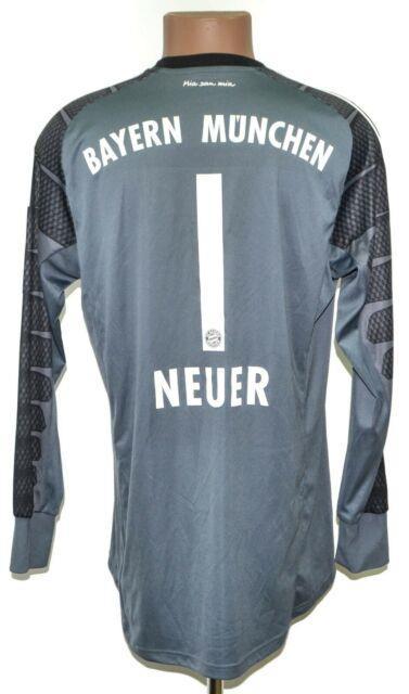 Bayern Munich 2014/2015 Goalkepper Football Shirt #1 Neuer Nike Size L Adult
