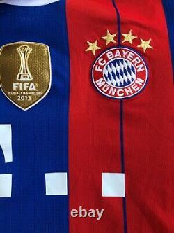 Bayern Munich 2014-2015 Gotze #19 Champions League Home Shirt Jersey Rare size M