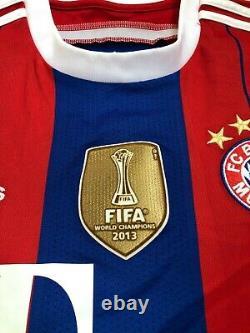 Bayern Munich 2014-2015 Gotze #19 Football Soccer Home Shirt Jersey Trikot sz L