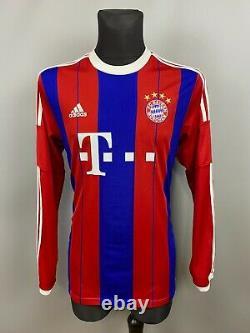 Bayern Munich 2014 2015 Home Shirt Football Soccer Jersey F48500 Adidas Mens L