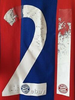 Bayern Munich 2014/2015 LAHM Home Football Soccer Shirt Jersey München FC F48499