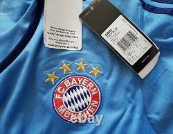 Bayern Munich 2015 2016 Goalkeeper football Adidas long sleeve Jersey size L