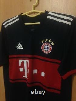 Bayern Munich 2017/2018 Away Football Shirt Jersey Trikot Joshua Kimmich #32