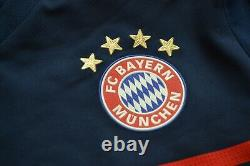 Bayern Munich 2017/2018 Away Football Shirt Soccer Jersey Adizero Adidas Mens S