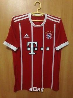Bayern Munich 2017/2018 Home Football Shirt Jersey Trikot Rafinha #13