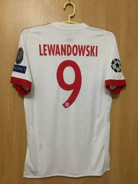 Bayern Munich 2017/2018 Third Football Shirt Jersey Trikot Robert Lewandowski #9