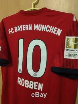 Bayern Munich 2018/2019 Home Football Shirt Jersey Trikot Arjen Robben #10