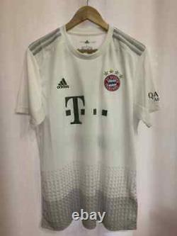 Bayern Munich 2019/2020 Away Football Shirt Jersey Sz L Dw7406 Lewandowski #9