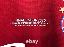 Bayern Munich 2019-2020 Champions League Final Lisbon player version jersey