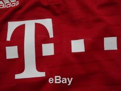 Bayern Munich #9 Lewandwski 100% Original Jersey Shirt M 2016/17 Home