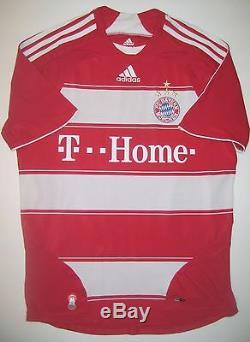 Bayern Munich Adidas 2007 2008 Miroslav Klose 18 Germany Jersey Trikot Munchen
