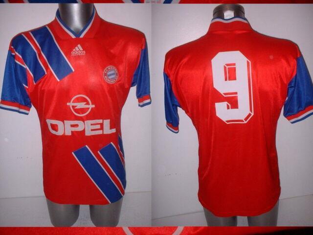 Bayern Munich Adidas 9 Shirt Adult Medium Jersey Trikot Football Soccer Vintage