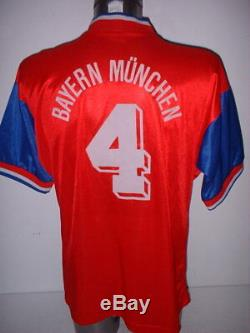 Bayern Munich Adidas 93 Shirt Adult Large Jersey Trikot Football Soccer Vintage