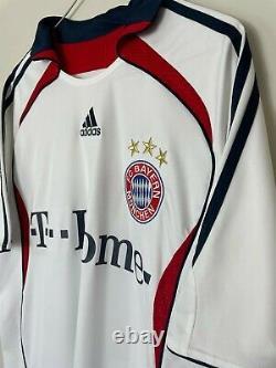 Bayern Munich Adidas Football Shirt Kit Jersey Klose #18 2006/2007 Away Medium