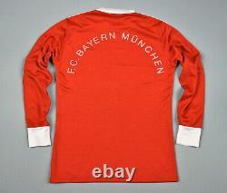Bayern Munich Adidas Jersey Vintage Home Shirt 1982-84 Size M