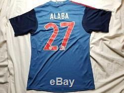 Bayern Munich Adidas Large Shirt Jersey Muller Alaba