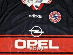 Bayern Munich Adidas New Jersey Vintage Home Shirt 1997-98 Size XXL