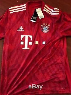 Bayern Munich Alphonso Davies Autographed Signed Adidas Climalite Jersey COA NWT
