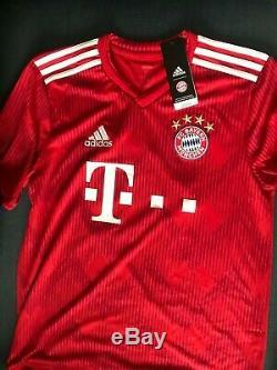 Bayern Munich Alphonso Davies Autographed Signed Youth XL Jersey COA BNWT