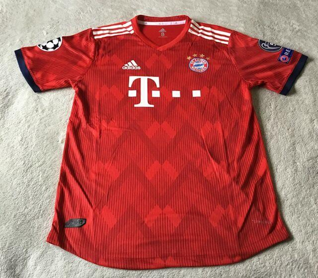 Bayern Munich Arjen Robben Champions League 2018/2019 Match Issue Jersey Size 8