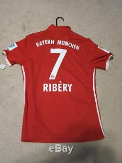 Bayern Munich Autograph Jersey Trikot 16/17 Team Adidas Adizero