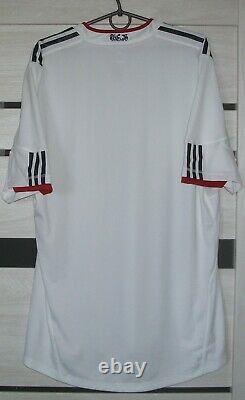 Bayern Munich Away Player Issue Adidas Shirt football 2010 2011 Jersey Size XL