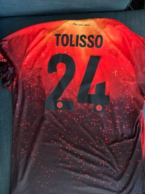 Bayern Munich Corentin Tolisso Autographed Signed Ea Sports Jersey Coa Bnwt