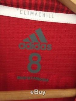 Bayern Munich DFL Supercup 12 Aug 2018 Robert Lewandowski Player Issue Jersey