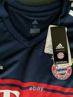 Bayern Munich David Alaba Autographed Signed Bundelisga XL Jersey JSA COA BNWT