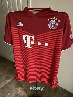Bayern Munich Davies Home 2021 Jersey US Adult Large