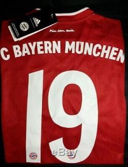 Bayern Munich FC 20/21 Home Jersey #19 A. Davies (Medium)