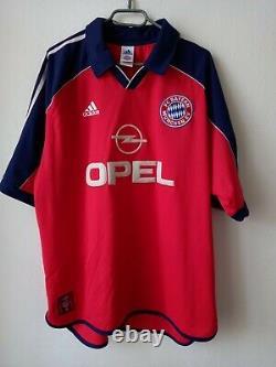 Bayern Munich Fc 1999/2001 Home Football Shirt Jersey Elber #9