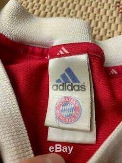 Bayern Munich GERMANY 2001 2002 FOOTBALL SHIRT JERSEY CUP HOME ADIDAS ORIGINAL