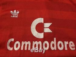 Bayern Munich Germany 1984/1989 Rare Football Shirt Jersey Home Adidas Original