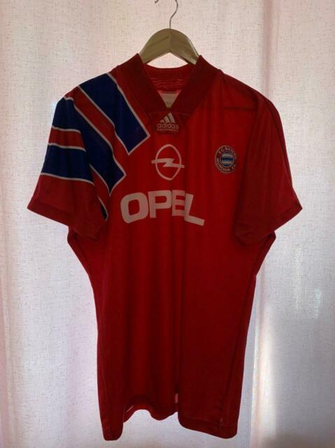 Bayern Munich Germany 1993/1994 Home Football Shirt Jersey Trikot Size M Adidas