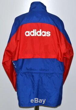 Bayern Munich Germany 1993/1994 Rain Coat Jacket Jersey Adidas Size XL Adult