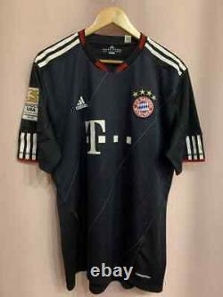 Bayern Munich Germany 2010/2011 Match Worn Third Football Shirt Jersey Breno #2