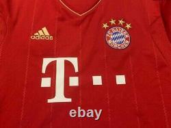 Bayern Munich Germany 2012/2013 Home Football Shirt Jersey Trikot Size L Adidas