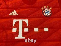 Bayern Munich Germany 2019/2020 Home Football Shirt Jersey Trikot Size L Adidas