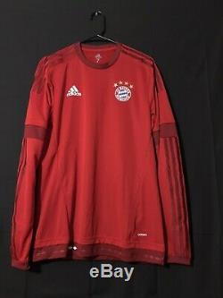 Bayern Munich Germany Adidas Adizero Soccer Player Issue Football Trikot 7Jersey