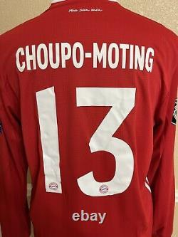 Bayern Munich Germany Choupo-moting France Player Issue Shirt CL Prepared Jersey