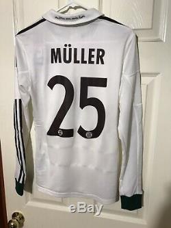 Bayern Munich Germany Muller Formotion Shirt PlayerIssue Football Trikot Jersey