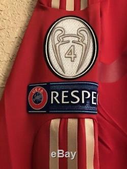 Bayern Munich Germany Robben 6 Techfit Player Issue Shirt Football Jersey
