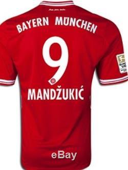 Bayern Munich Germany Shirt Mandzukic Juventus Croatia S, M, L, XL Trikot jersey