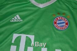 Bayern Munich Goalkeeper Football Shirt 2017 Trikot Jersey Match Worn #22 Starke