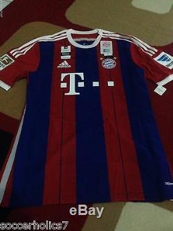 Bayern Munich Home 14/15 Kroos 39 L SS BNWT Original Adizero
