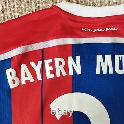 Bayern Munich Home Football Shirt 2014 2015 SCHWEINSTEIGER #31 size M VFSPro