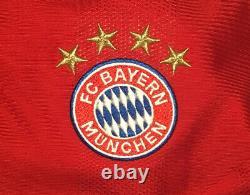 Bayern Munich Home Jersey adidas 2020/2021 Medium #6 Kimmich Long Sleeve