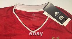 Bayern Munich Home Jersey adidas 2020/2021 Medium #9 Lewandowski Long Sleeve